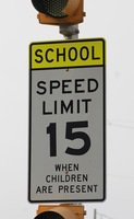 Motorists reminded: Take care in school zones