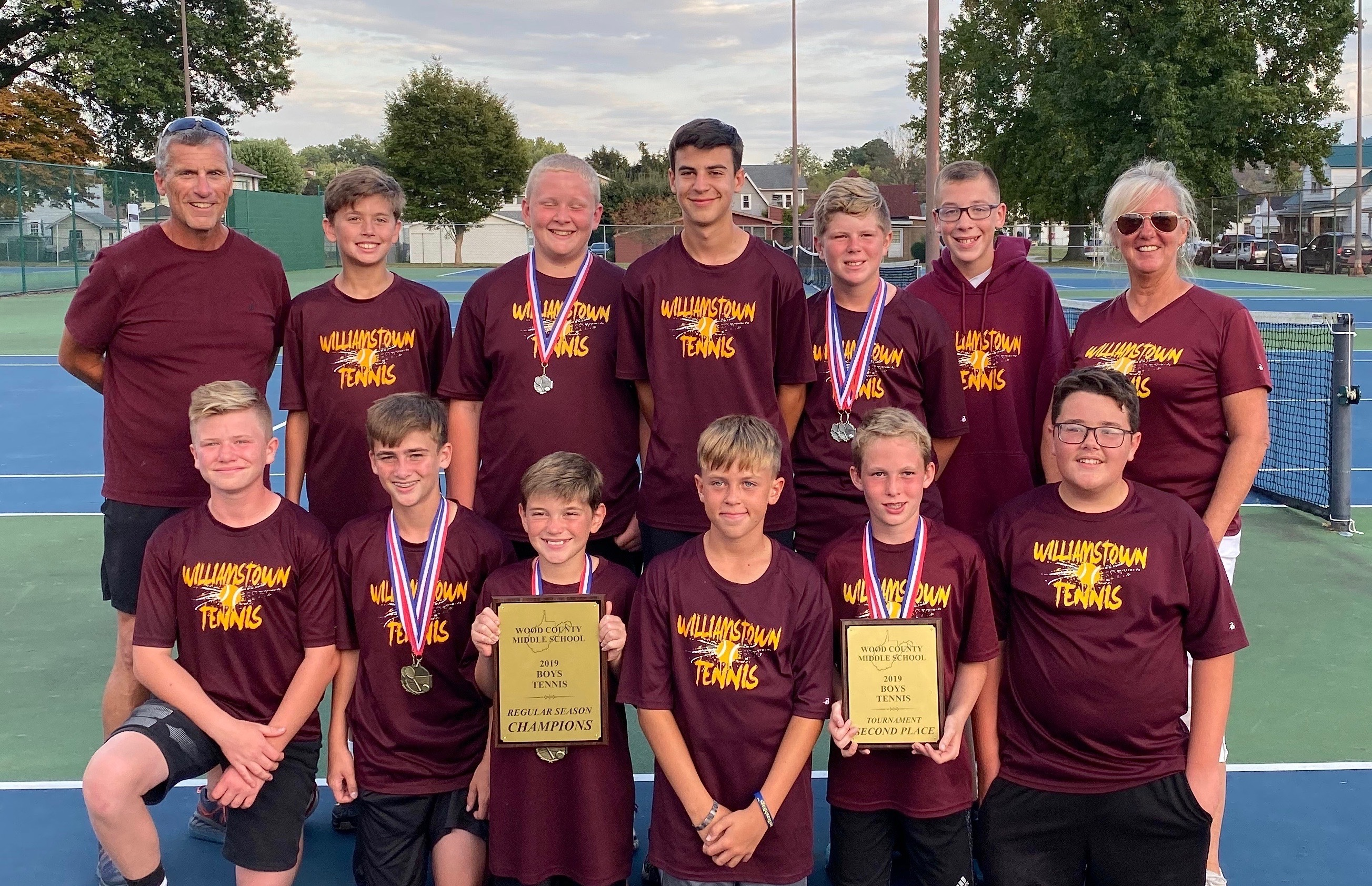 MS Boys Tennis 2019