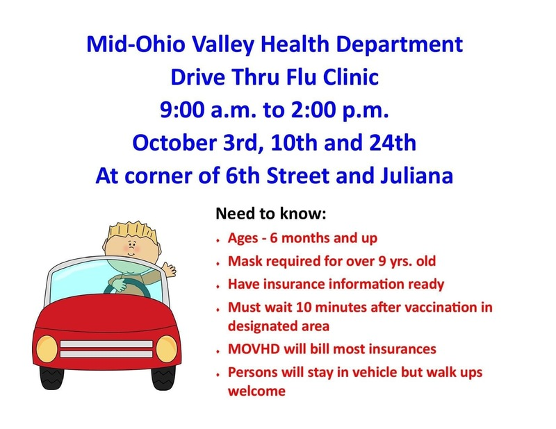 MOVHD Drive Thru Flu Shot Clinics